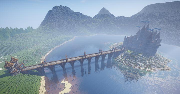 The entire build