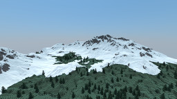 Snowy Mountain Minecraft Map & Project