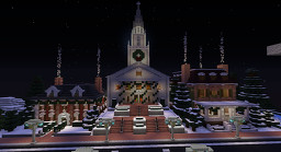 Fantasia's 9th Annual Christmas Build Competition Spawn Minecraft Map & Project