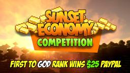 🌄 Sunset Economy 1.14.4 - 🍦 Semi-Vanilla - 🤑 $25 Paypal Competition - 💲 Economy Server - ⚔️No-Grief Minecraft Server
