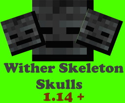 Wither Skeleton Skulls [ 1.15 ] Minecraft Data Pack