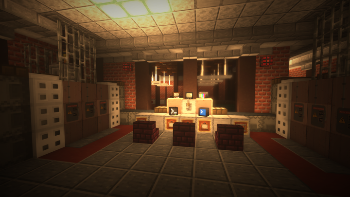 Power Management Room. Explorers are able to venture here and turn the power on to the entire facility!