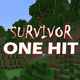 Survivor: ONE HIT Minecraft Data Pack