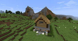Old-School House Minecraft Map & Project