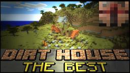 THE BEST Dirt House in Minecraft (Survive first night) ! Minecraft Blog