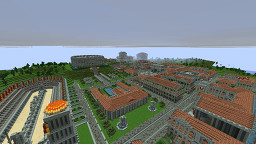 Thedorak - Urbs aeterna of the Cubic World (LIACW) Minecraft Map & Project