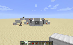 2x2 Simple Piston Door - Cheap Minecraft Map & Project