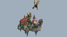 Sky-Block Spawn Minecraft Map & Project