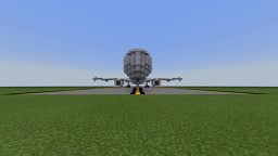 American Airlines Airbus A321-200 Minecraft Map & Project