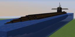 USS Pennsylvania Ballistic Missile (SSBN-735) Minecraft Map & Project