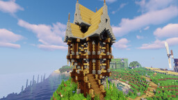 SteamPunK House ! Minecraft Map & Project