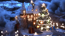North Pole Christmas House Minecraft Map & Project