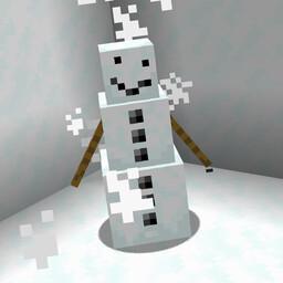 Build a Snowman! Minecraft Data Pack