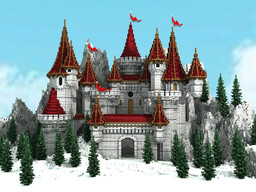 My new castle build Minecraft Map & Project