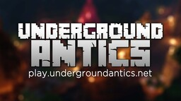 Underground Antics [1.16.1] Australian / Economy / Player Shops / Enhanced SMP / Plots Minecraft Server