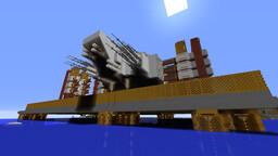 Titan Class Land/Sea Platform/Rig (work in progress) Minecraft Map & Project