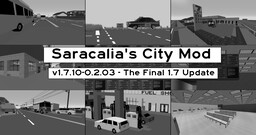 [1.7.10][Forge] Sarcalia's City Mod - v1.7.10-0.2.03 - The Final 1.7 Update! Minecraft Mod