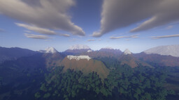 Mountain Environment v1.1 Minecraft Map & Project
