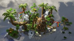 Pirate Skyblock Spawn Minecraft Map & Project