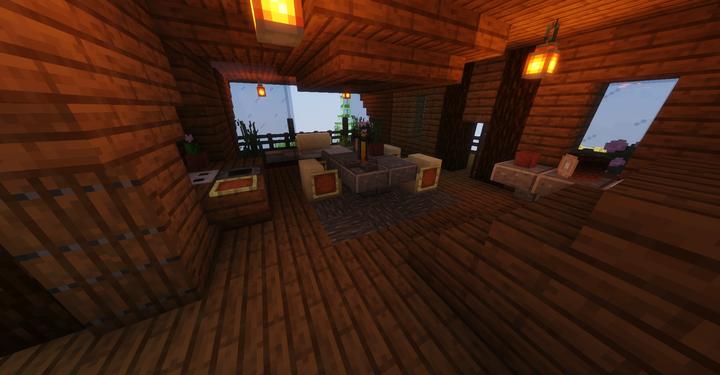 Second Floor Kitchen and Deck