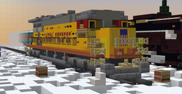 Union Pacific C30-7 Minecraft Map & Project
