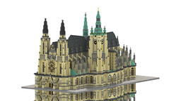 Repro - St. Vitus Cathedral Minecraft Map & Project