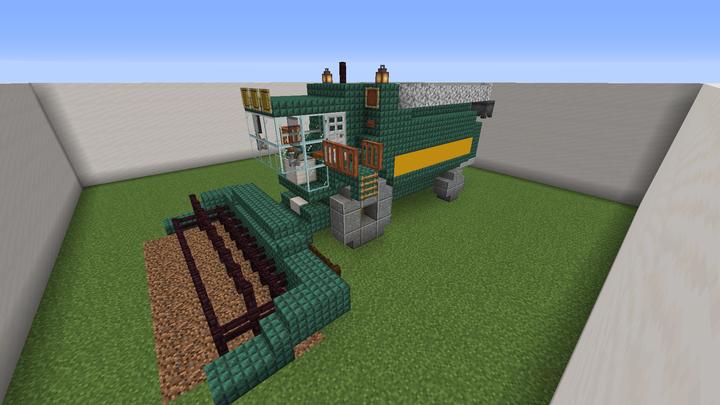 Version using blocks available in vanilla minecraft