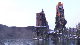 Frosthill Keep Minecraft Map & Project