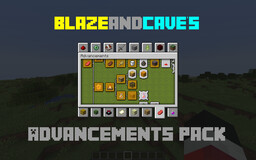 BlazeandCave's Advancements Pack [1.15 Datapack] Minecraft Data Pack