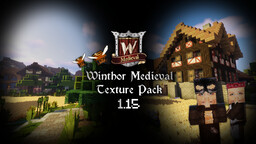 Winthor Medieval MC 1.15 v2.8.5 Minecraft Texture Pack