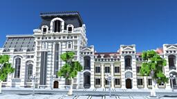 Saffron Street Minecraft Map & Project