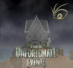[Netflix's A Series Of Unafortunate Events] Aunt Josephine's House Minecraft Map & Project
