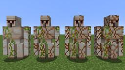 Iron Golem Cracking Retexture Minecraft Texture Pack