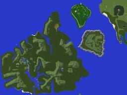 Jurassic Park (Three islands) Minecraft Map & Project