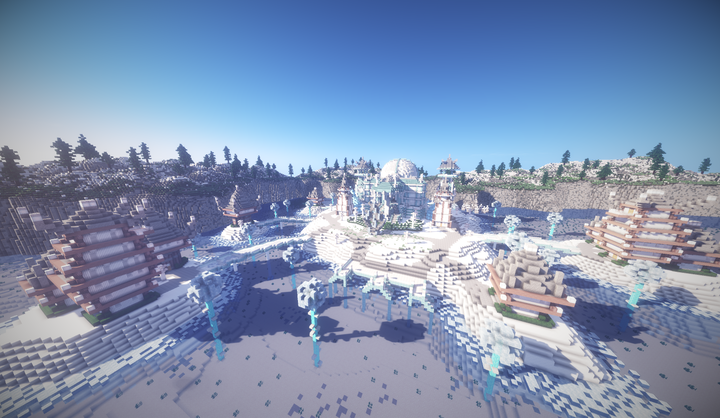 Ice Palace and Frozen Town