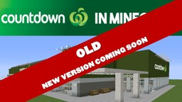 [1.12.2]HUGE Grocery/Supermarket Store! ~ Countdown Fraser Cove Minecraft Map & Project