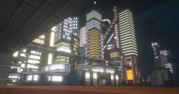 Exutron City - Progress 12% Minecraft Map & Project
