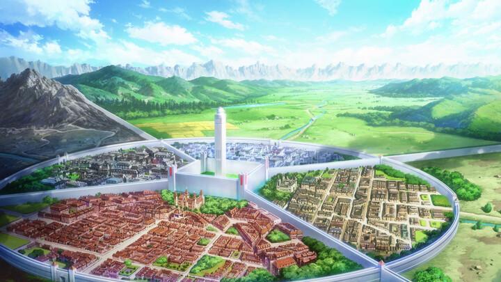 Stadt Centoria aus SAO - City of Centoria from SAO