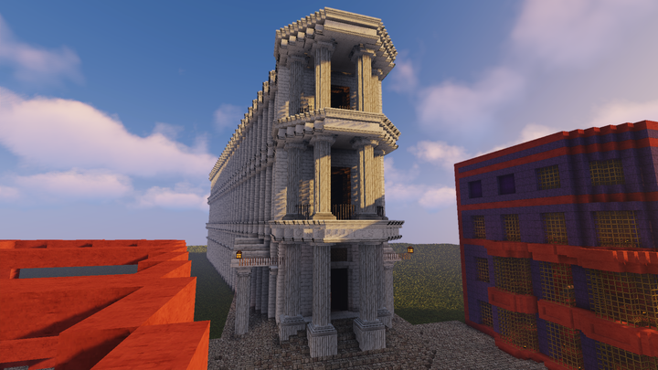 Gringotts View sneakpeak for my upcoming map on the right