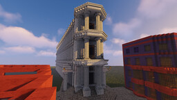 Gringotts - Harry Potter build Conquest Reforged #WeAreConquest Minecraft Map & Project