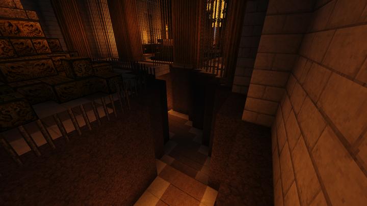 Spiraling Entrance To Underground Vaults