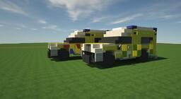 Volkswagen Amarok 4x4 Ambulance (British and Dutch) [DOWNLOAD] Minecraft Map & Project