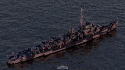 USS Slater (DE-766) Minecraft Map & Project