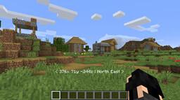 Coordinates Minecraft Data Pack