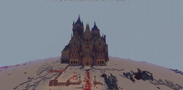Allerdale Hall Crimson Peak Minecraft Map