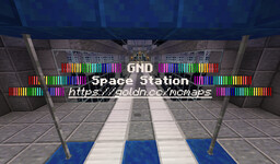 GND Space Station Minecraft Map & Project