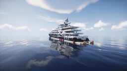 Superyacht 'Colombus' Minecraft Map & Project