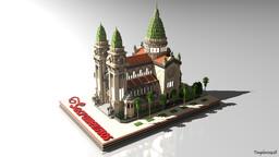 Sacramentinos Church, Santiago de Chile Minecraft Map & Project