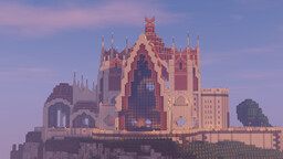 The Church of Sacred White Stone Minecraft Map & Project