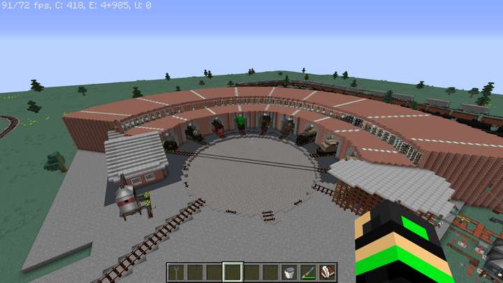 Roundhouse was not created by me.
